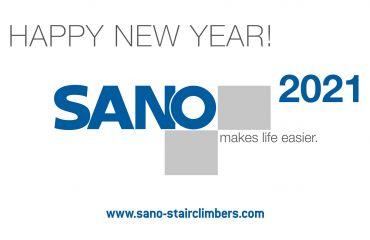 Gesundheit, Glück und Erfolg für 2021 wünscht das gesamte Team von SANO, Österreich