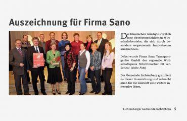 Schrittmacher 08Auszeichnung Magazin Rundschau