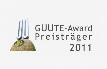 GUUTE Award 2011verliehen durch Wirtschaftskammer OÖ – Verein GUUTE