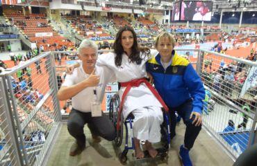 SANO ist Sponsor bei der Karate WM 2016 in Linz