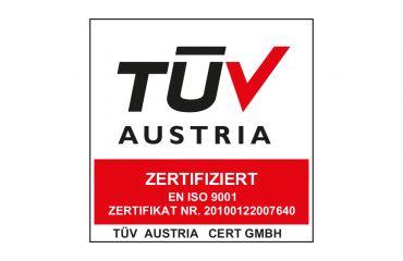 ISO Zertifikate EN 13485:2016, EN 9001:2015 & EN 14001:2015