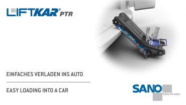 LIFTKAR PTR Treppenraupe - Einfaches Verladen ins Auto