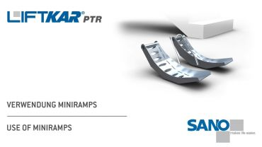 LIFTKAR PTR Treppenraupe - Verwendung Miniramps